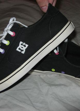 Кеды кроссовки dc shoes оригинал размер 38 по стельке 25 см