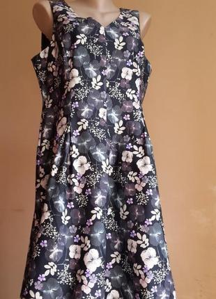 Красивое платье хлопок monsoon  британия