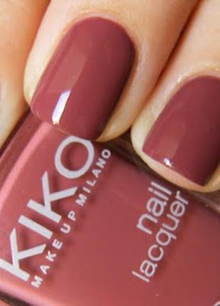 Лак для нігтів kiko milano