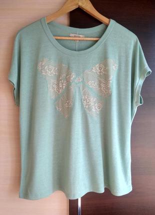 Модная брендовая блуза футболка