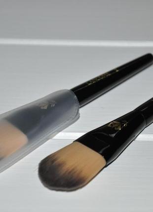Кисть для тональных средств lancome foundation brush #2 миниатюра длина 12см