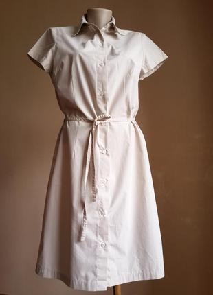 Телесное платье хлопок dorothy perkins британия