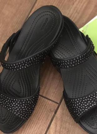 1193b573d9fe ... Шлепанцы крокс crocs cleo v diamante sandal