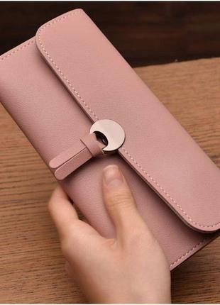 Женский клатч baellerry lady розовый1
