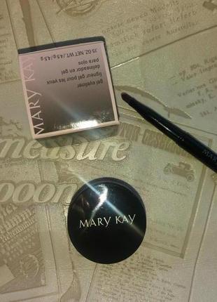 Mary kay гель - подводка для глаз с кистью