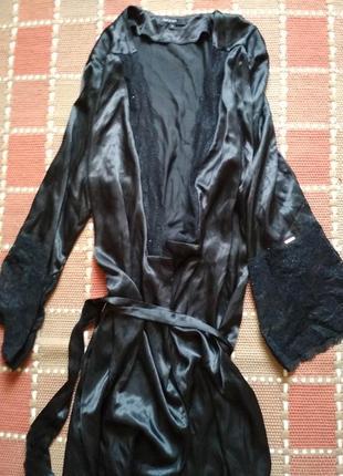 Королевский домашний халат размер универсальный модель с запахом