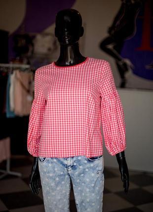 Хлопковая блуза рубашка от dilvin