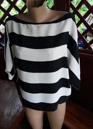 Стильная блуза в полоску от zara