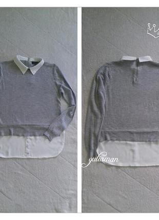 New!!! джемпер + рубашка от atmosphere l/xl