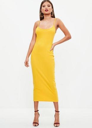 Платье миди missguided размер uk8