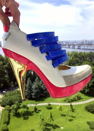 Мега стильные и креативные туфли dsquared оригинал