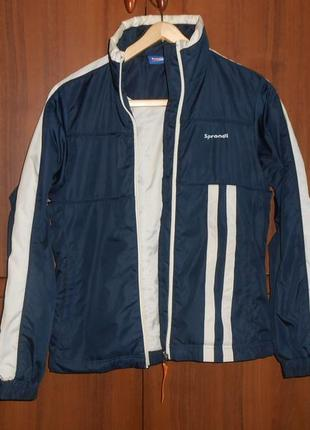 Куртка sprandi синяя размер указан xs подойдёт и на s.