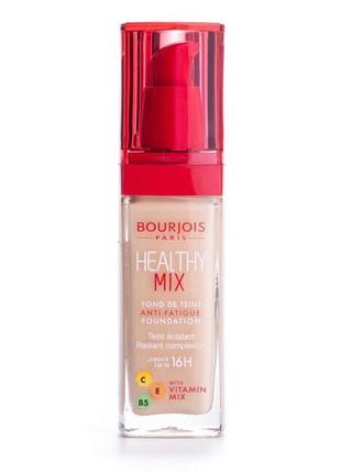 Tональный крем bourjois radiance reveal healthy mix foundation 51 тон.