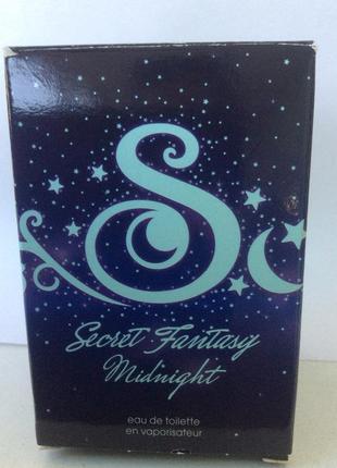 Женская туалетная вода secret fantasy midnight  от avon
