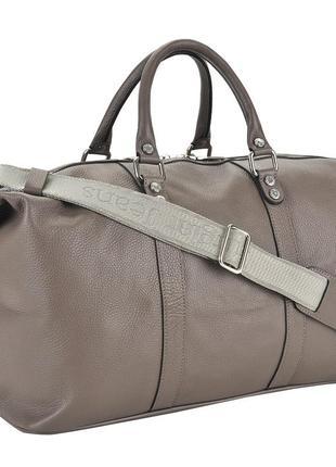 Дизайнерская, сумка от  sara burglar италия, ручная кладь, натуральная кожа, новая