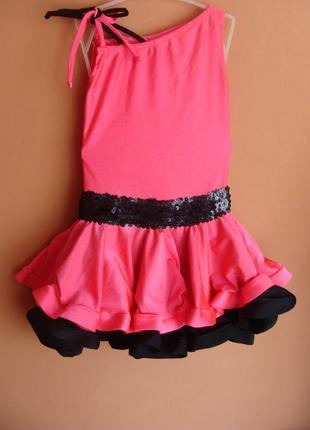 Платье рейтинговое бейсик для танцев