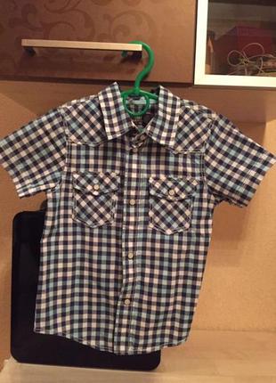 Тенниска, рубашка фирмы h&m размер 110. возраст 4-5.