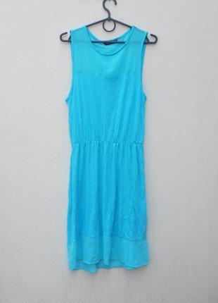 Летнее легкое платье из вискозы