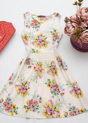 Легкое летнее платье в цветочный принт atmosphere 12uk