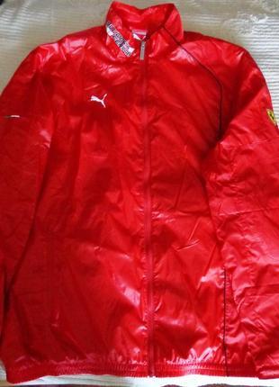 ecfa3793ea32 Фирменная мужская спортивная куртка ветровка puma ferrari Puma ...