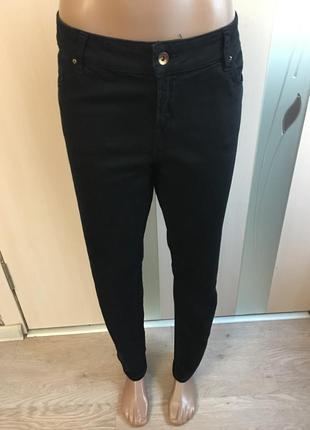 Чёрные джинсы большой размер при покупки от 3х вещей доставка укр.почтй бесплатно.