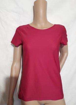 Женская футболка спортивная малиновая h&m