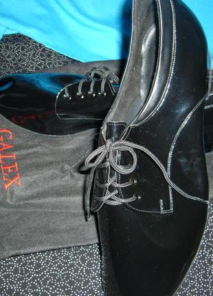 Туфли бальные мужские стандарт galex.