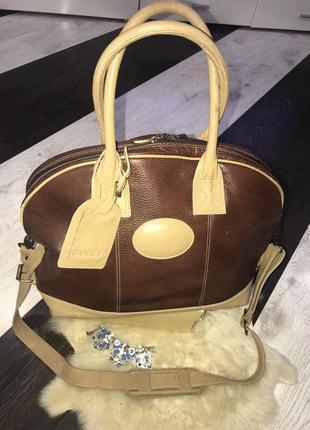 Супер сумка gucci натуральна шкіра)))