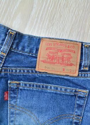 Крутые шорты с необработанным краем levis