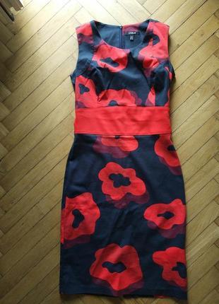 Платье с цветочным принтом carla