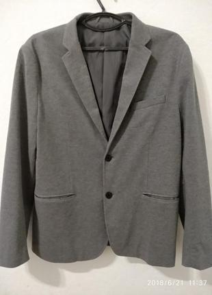 Мужской пиджак классический h&m