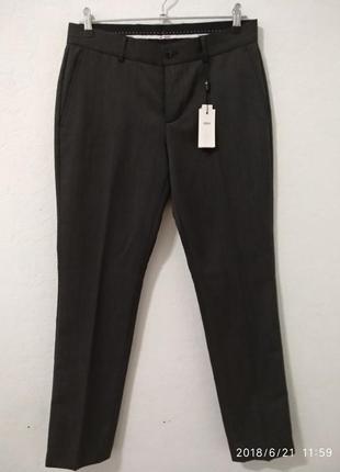Мужские классические серые брюки 46 рр