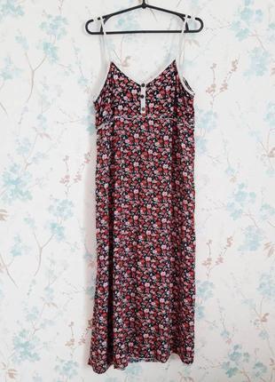 Очень крутое платье в цветы