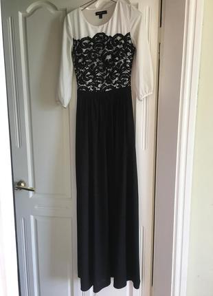 Платье нарядное в пол waggon
