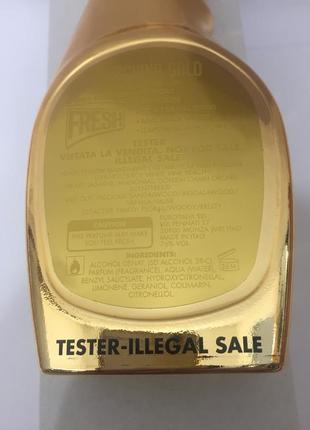Moschino gold fresh couture тестер парфюмированная вода 100 мл оригинал3 фото