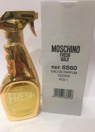 Moschino gold fresh couture тестер парфюмированная вода 100 мл оригинал