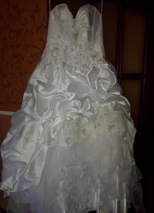 Эксклюзивное, итальянское свадебное платье