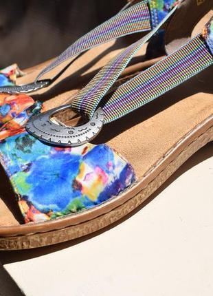 Стильные босоножки сандали риекер rieker р.39 25,5-26 германия
