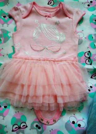 Ніжний бодік-платтячко