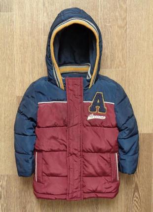 Куртка 9 - 12мес, длина 40см, ширина 32см, рукав 30см.