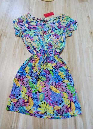 Легкое платье натуральная ткань