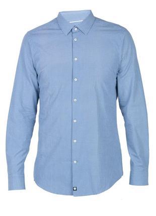 Рубашка в мелкую клетку strellson