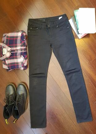 Штаны брюки скинни облегающие джинсы