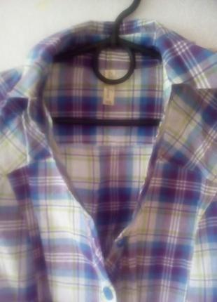 Рубашка в клетку gloria jeans