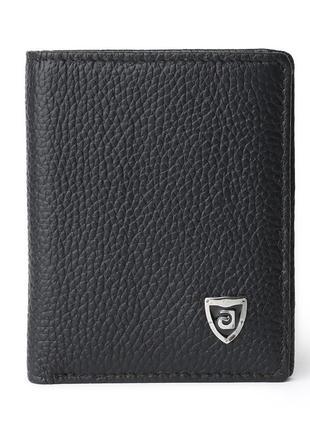 Кошелек портмоне кожа мужской оригинал новый черный. 100% кожа!