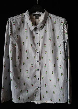 Полосатая рубашка primark размер 10