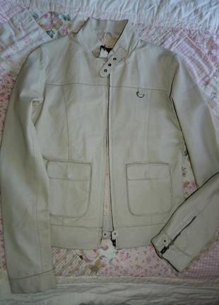 Фирменная кожаная куртка. 100% кожа.