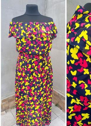 Шикарные платья из шифона