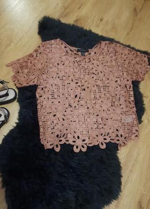 Блуза,кружевная