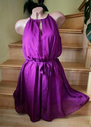 Нарядное платье сарафан миди